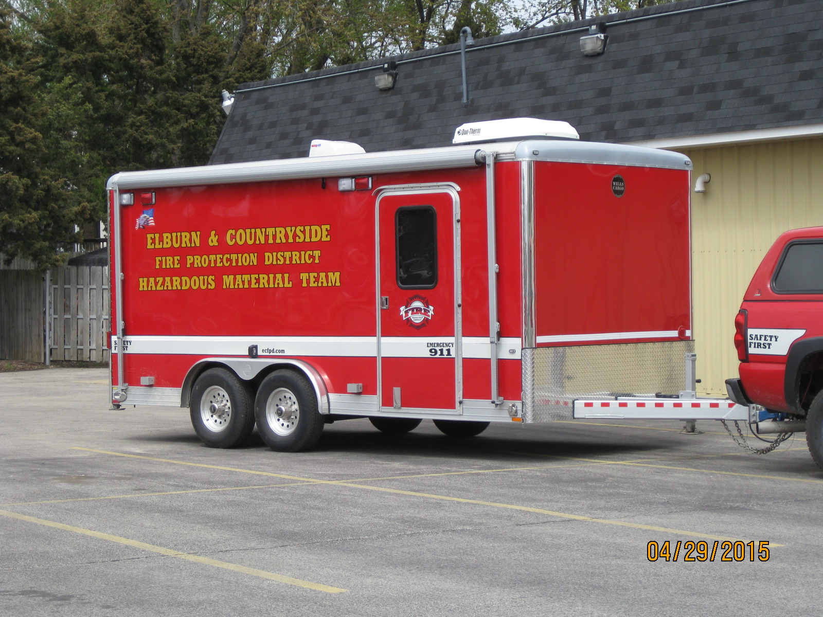 Hazardous Material & Decontamination Trailer